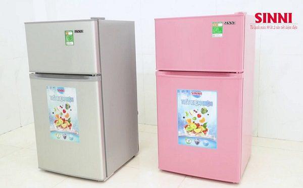 Tủ Lạnh Mini 2 Cửa Sini