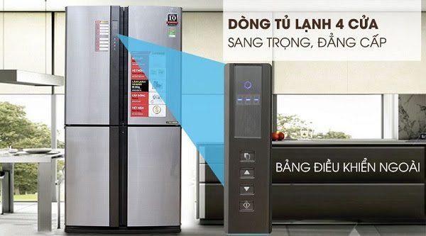 Tủ Lạnh Inverter Sharp Sj-Fx630V-St Chức Năng