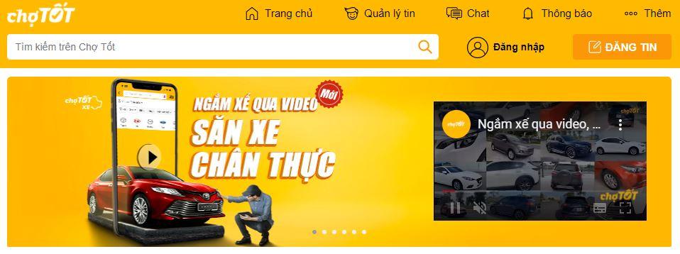 Giao Diện Chotot.com
