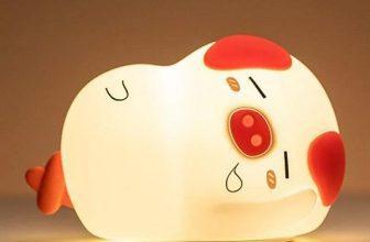 Đèn phòng ngủ để bàn dễ thương hình heo con