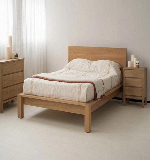 Giường Ngủ M2 Được Làm Từ Nhiều Chất Liệu Đảm Bảo