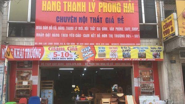Hàng Thanh Lý Phong Hải