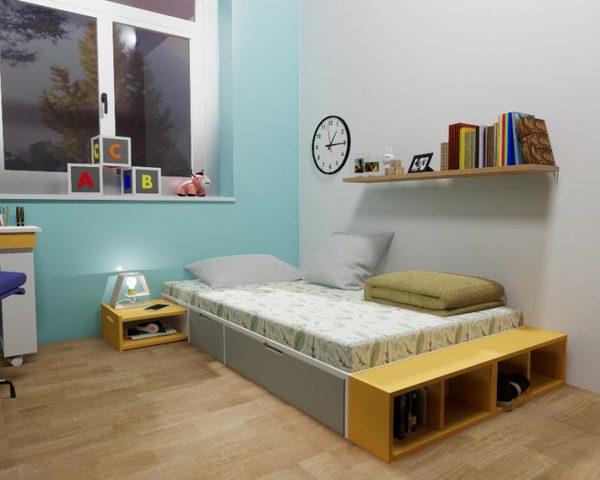 Hình Ảnh Đẹp Giường 1M2 - 1