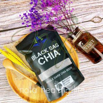 500Gram Hạt Chia Úc Organic Chia Seeds Túi Đen Hàng Chuẩn Date...