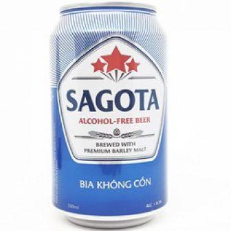 Bia Sagota Không Cồn - Thùng 24 Lon