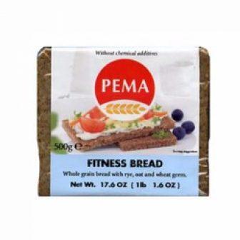 Bánh Mì Đen Giảm Cân Fitness Hiệu Pema Gói 500G
