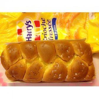 Bánh Mì Hoa Cúc Harrys Brioche Tressée Cực Thơm Ngon 500Gr Pháp