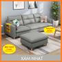 [Có Video] Ghế Sofa Giường Bắc Âu - Bộ Ghế Sofa Phòng Khách 2M1 X 85 Thiết Kế Mới, Ghế...
