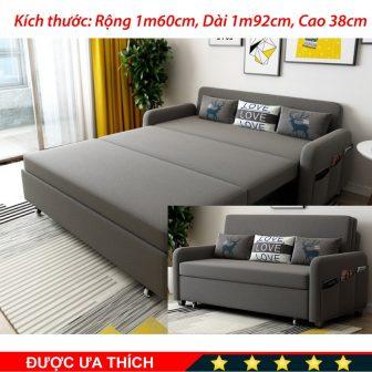 [Cao Cấp] Ghế Sofa Giường, A267 Rộng 160Cm Dài 192Cm Cao 38Cm...