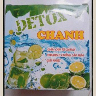 Detox Chanh Giảm Cân