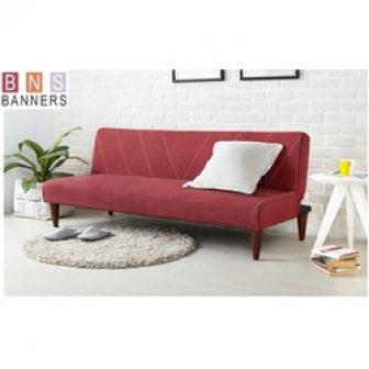 Ghế Sofa Giường Đa Năng Bns 2002 Đỏ
