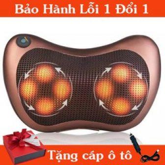 Gối Massage Hồng Ngoại Ge7891 Giúp Máu Lưu Thông Mang Lại Cảm...