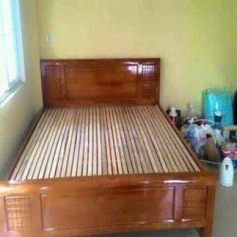 Giường Ngủ Gỗ Xoan Đào 1M2