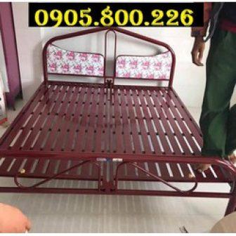 Giường Sắt 1M8 Giá Tại Xưởng Hcm