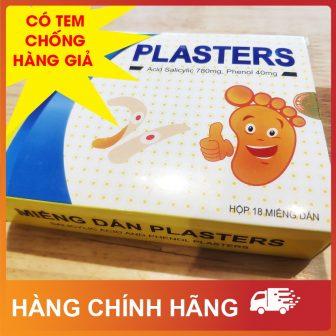 [Hàng Chính Hãng] Miếng Dán Plasters Mụn Cóc, Mắt Cá Chân, Vết...