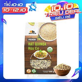 Hộp Mix 3 Loại Hạt Quinoa (Diêm Mạch) Smile Nuts 500G -...