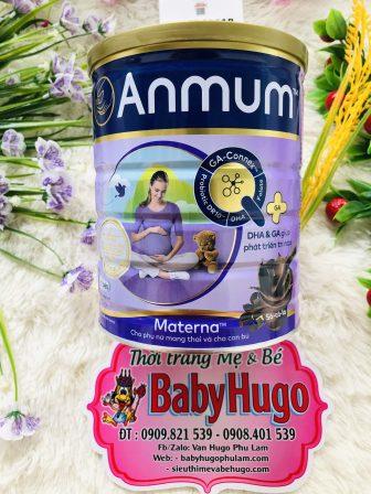 [Hsd 2022] Sữa Bột Anmum Materna Hương Vani - Socola Hộp 800G