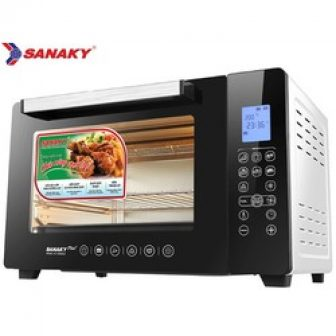 Lò Nướng Thùng Điện Tử Sanaky 50 Lít Vh-5088N2D