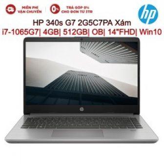 Laptop Hp 340S G7 2G5C7Pa Xám I7-1065G7/4Gb/512Gb/Ob/14Fhd/Win10-Hàng Chính Hãng New