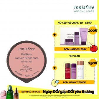 Mặt Nạ Rửa Dạng Hủ Từ Đậu Đỏ Innisfree Capsule Recipe Pack...