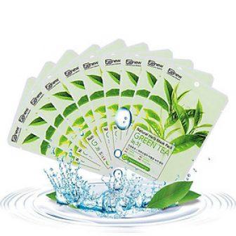 Mặt Nạ Trà Xanh Benew Natural Herb Mask Green Tea Combo 10...