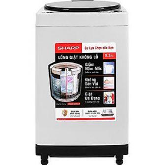 Máy Giặt Sharp 8.2 Kg Es-W82Gv-H - Chỉ Giao Hà Nội