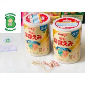 Sữa Meiji Số 0 Cho Bé 0-12 Tháng