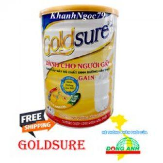 Sữa Tăng Cân Dành Cho Người Gầy Goldsure Lon 900G