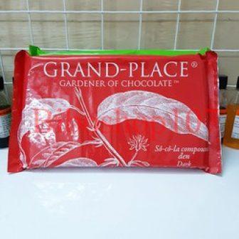 Socola Đen Grand Place 1Kg - Dark Chocolate
