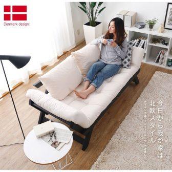 Sofa Giường Xuất Nhật Gấp Gọn-Lắp Ghép Thông Minh- Hàng Cao Cấp