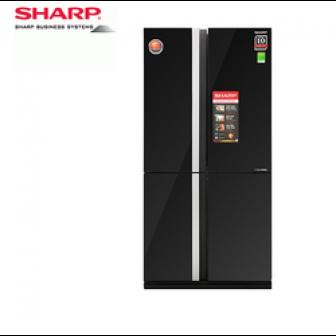 Tủ Lạnh Sharp Inverter Sj-Fx688Vg-Bk Mẫu 2019 605 Lít