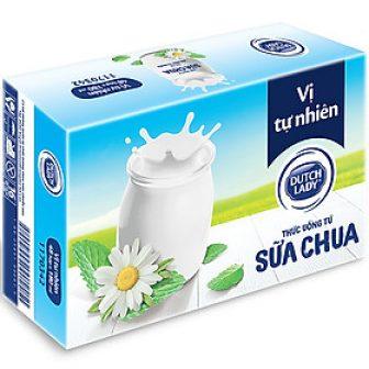Thùng Sữa Chua Uống Lên Men Tự Nhiên Dutch Lady Vị Tự...