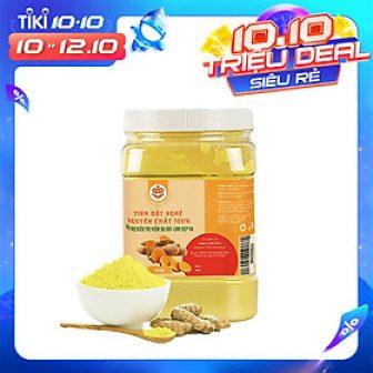 Tinh Bột Nghệ Nguyên Chất 100% Organic Tete 500 Gram