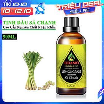 Tinh Dầu Sả Chanh Thiên Nhiên Cao Cấp 50Ml (Lemongrass) - Tinh...