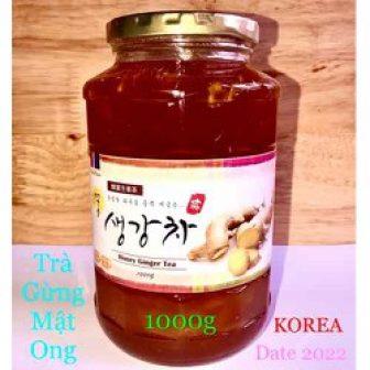 Trà Gừng Mật Ong Hàn Quốc Lọ 1Kg Honey Ginger Tea Date...