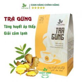 Trà Gừng Thái Hưng Hộp 25 Túi Lọc 5G Tăng Huyết Áp...