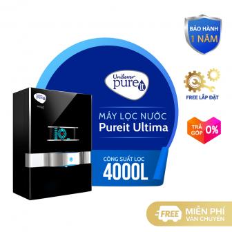 [Trả Góp 0%]Máy Lọc Nước Pureit Ultima - Màu Đen - Công...