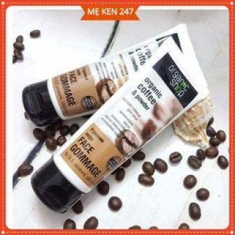 Tẩy Tế Bào Chết Da Mặt Organic Coffee Nga - Tẩy Tế...